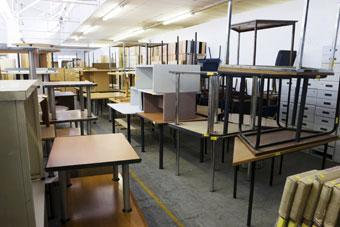 Recycler et trier le mobilier de bureau d entreprise